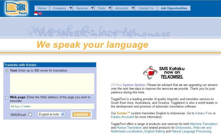 Kataku penerjemahonline